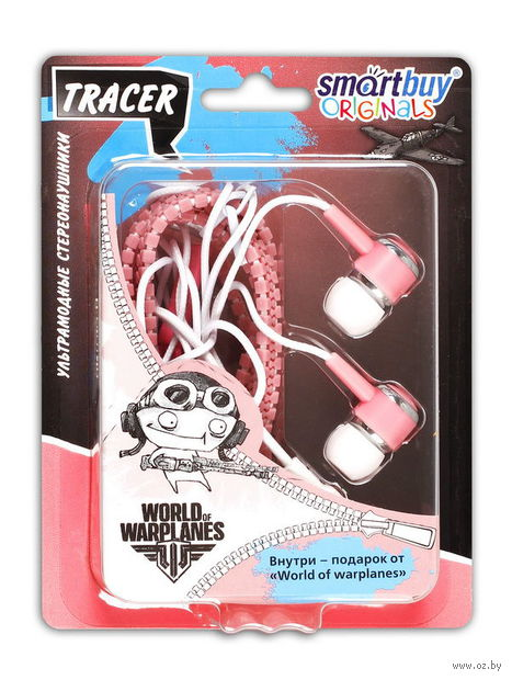 Наушники SmartBuy TRACER, SBEWOW-4600  (розовые)