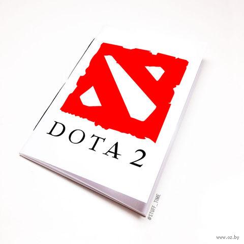 """Блокнот белый """"ДОТА 2"""" А5 (026)"""