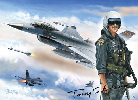 "Пазл ""F-16 Файтинг Фалкон"" (1000 элементов)"