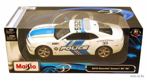 "Модель машины ""Chevrolet Camaro SS RS Police"" (масштаб: 1/18) — фото, картинка"