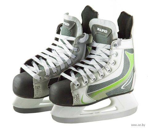 """Коньки хоккейные """"Rapid"""" (р. 43; green) — фото, картинка"""