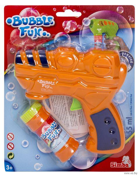 """Игрушка для выдувания мыльных пузырей """"Bubble fun"""" — фото, картинка"""