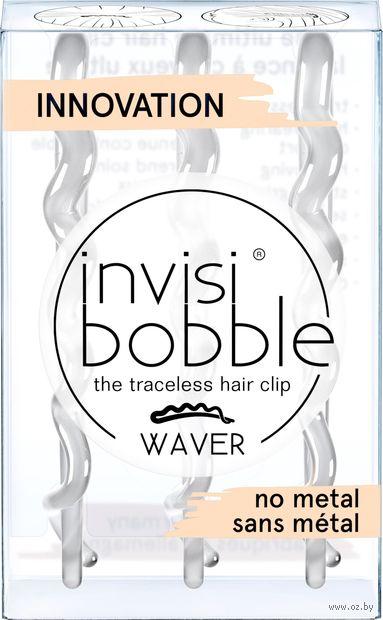"""Набор заколок для волос """"Waver Crystal Clear"""" (3 шт; арт. 3152) — фото, картинка"""