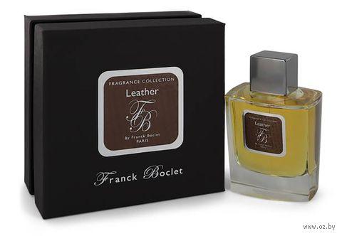 """Парфюмерная вода для мужчин """"Leather"""" (100 мл) — фото, картинка"""