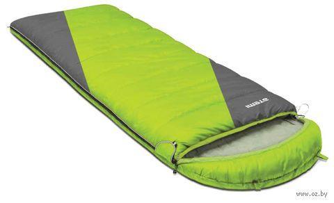 """Спальный мешок """"Quilt 300L"""" (салатово-серый) — фото, картинка"""