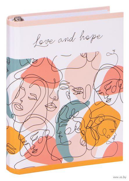 """Тетрадь со сменным блоком """"Love and Hope"""" (120 листов) — фото, картинка"""