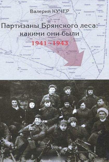 Партизаны Брянского леса. Какими они были. 1941-1943. Валерий Кучер