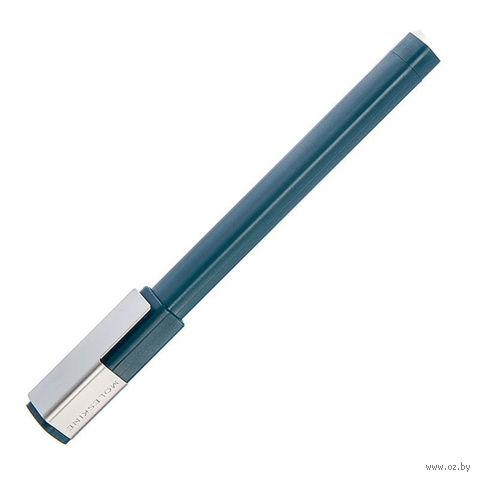 """Ручка-роллер Молескин """"Plus"""" (0,7 мм; цвет корпуса: темно-зеленый; цвет чернил: черный)"""