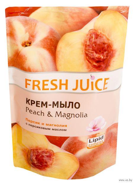 """Жидкое мыло """"Персик и Магнолия"""" (460 мл, дой-пак)"""