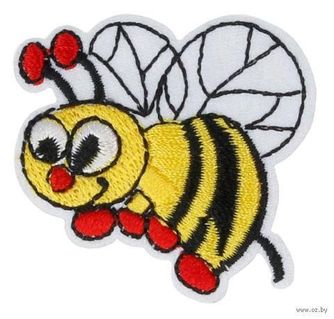 "Термоаппликация ""Пчёлка жёлтая"" — фото, картинка"