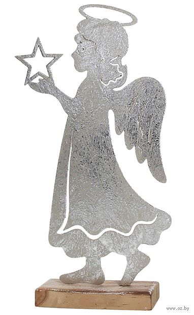 "Фигурка новогодняя ""Ангел со звездой"" (арт. CM9ANC59629) — фото, картинка"