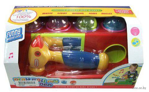 """Музыкальная игрушка """"Сортер с молоточком"""""""