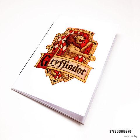 """Блокнот """"Гарри Поттер. Гриффиндор"""" (А7; арт. 870)"""