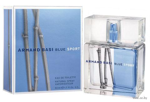"Туалетная вода для мужчин Armand Basi ""Blue Sport"" (50 мл) — фото, картинка"