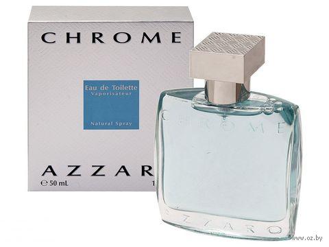 "Туалетная вода для мужчин Azzaro ""Chrome"" (50 мл) — фото, картинка"