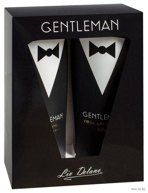 """Подарочный набор """"Gentleman"""" (шампунь, гель для душа) — фото, картинка"""