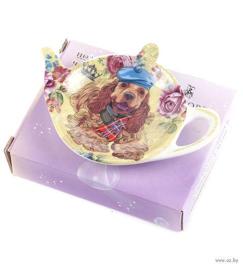 Подставка для чайного пакетика (9х7,5 мм; арт. XX-TBP-A4930) — фото, картинка