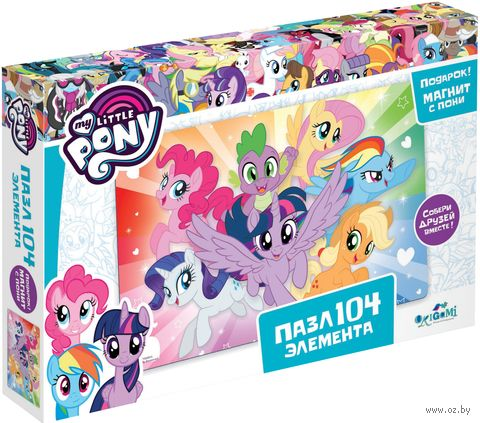 "Пазл ""My Little Pony. Магия дружбы"" (104 элемента) — фото, картинка"