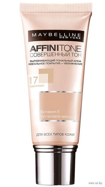"""Тональный крем для лица """"Affinitone"""" (тон: 17, розово-бежевый; 30 мл)"""