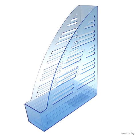 """Лоток вертикальный """"65"""" (прозрачно-синий)"""
