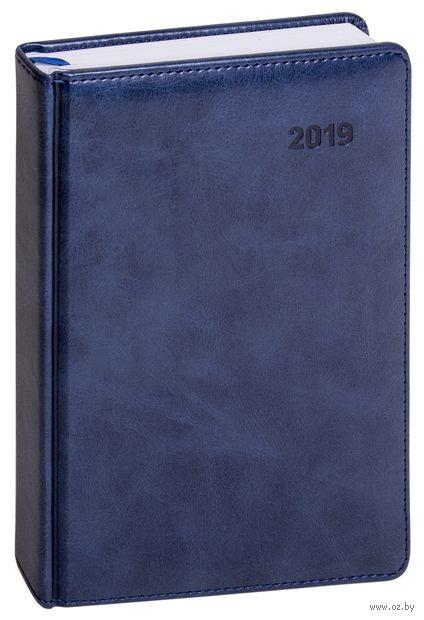 """Ежедневник датированный """"Vesper Index"""", 2017 (А5; 176 листов; синий)"""