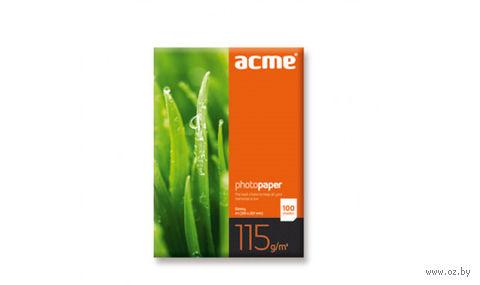 """Фотобумага глянцевая """"Acme"""" (100 листов; 115 г/м2; А4)"""