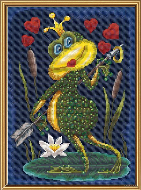 "Набор для вышивания ""Царевна квакушка"" (200х280 мм) — фото, картинка"