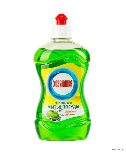"""Средство для мытья посуды """"Зеленое яблоко"""" (500 мл) — фото, картинка"""