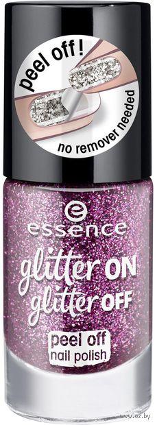 "Лак для ногтей ""Glitter On Glitter Off"" тон: 03 — фото, картинка"