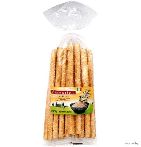 """Палочки хлебные """"Grissini. Кунжут"""" (250 г) — фото, картинка"""