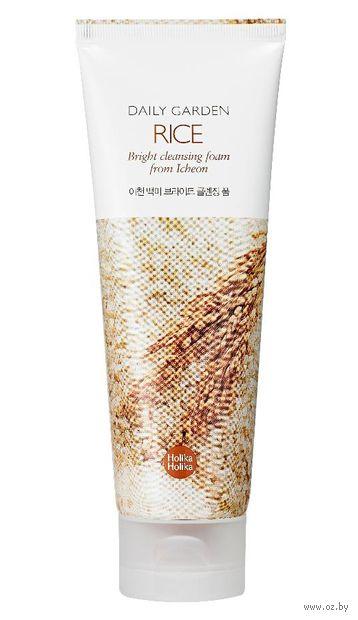 "Пенка для умывания ""Daily Garden Icheon Rice Bright Cleansing Foam"" (120 мл) — фото, картинка"
