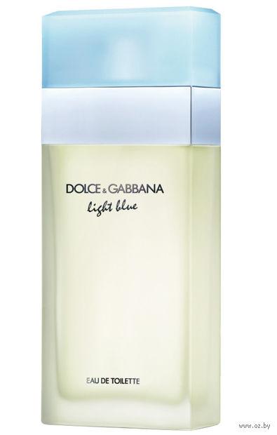 "Туалетная вода для женщин Dolce & Gabbana ""Light Blue"" (50 мл) — фото, картинка"