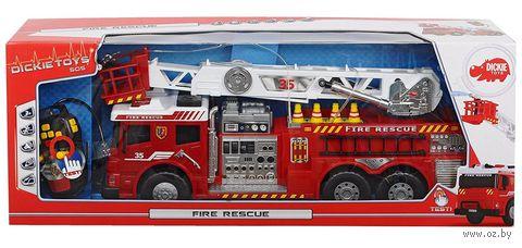 """Пожарная машина на дистанционном управлении """"Fire Rescue"""" (со световыми и звуковыми эффектами) — фото, картинка"""