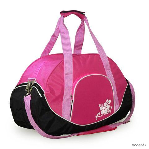 Сумка спортивная 5988 (39 л; розовая) — фото, картинка