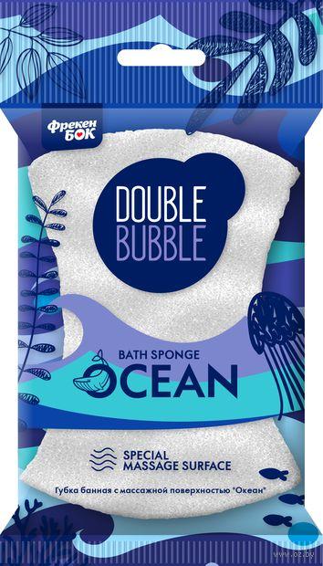 """Губка для тела с массажной поверхностью """"Океан. Банная"""" — фото, картинка"""