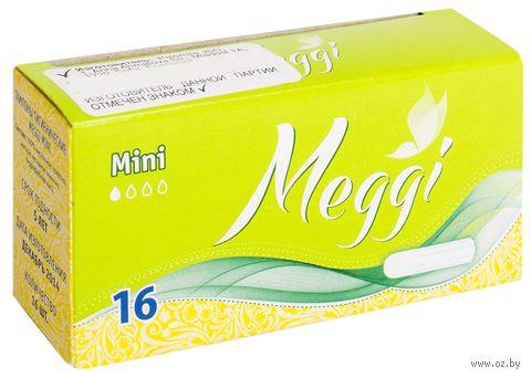 "Тампоны ""Meggi Mini"" (16 шт.) — фото, картинка"