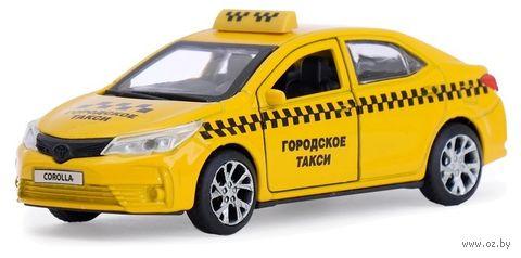 "Модель машины ""Toyota Corolla. Такси"" (арт. COROLLA-T) — фото, картинка"