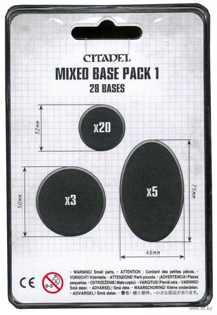"""Набор подставок """"Citadel. Mixed Base Pack 1"""" (28 шт.) — фото, картинка"""