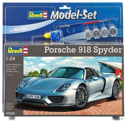 """Сборная модель """"Автомобиль Porsche 918 Spyder"""" (масштаб: 1/24) — фото, картинка"""