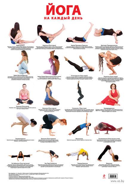 Йога на каждый день. Плакат