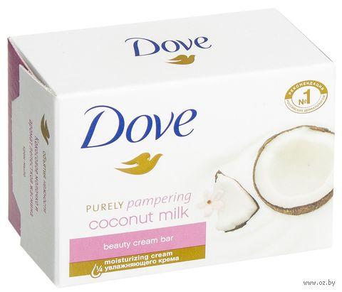 """Крем-мыло """"Кокосовое молоко с лепестками жасмина"""" (135 г) — фото, картинка"""
