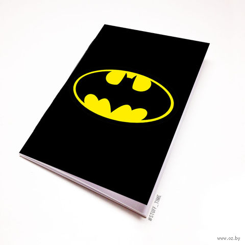 """Блокнот белый """"Бэтмен"""" А5 (047)"""