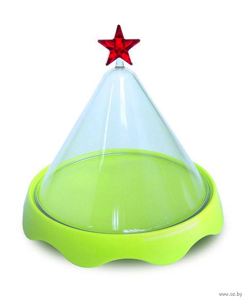 """Тортовница подарочная """"Merry Tray"""" малая (зеленая)"""