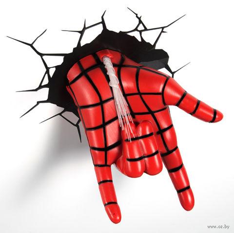 """Декоративный светильник """"Человек-паук. Рука"""" — фото, картинка"""