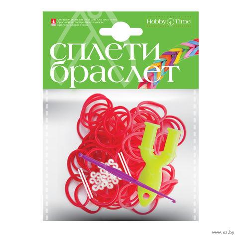 """Набор для плетения из резиночек """"Красный"""" (300 шт.) — фото, картинка"""