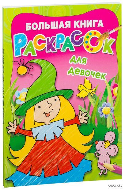Большая книга раскрасок для девочек — фото, картинка