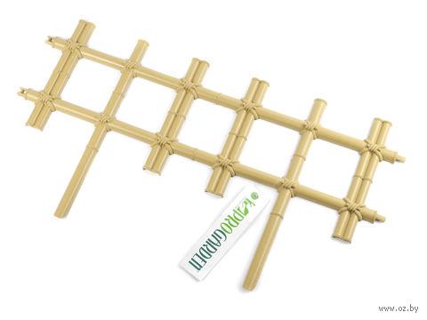 Ограда пластмассовая (60х32 см) — фото, картинка