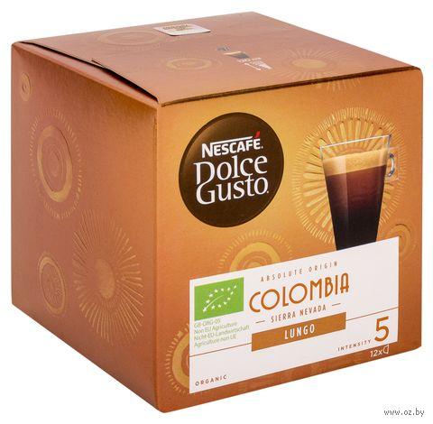 "Кофе капсульный ""Nescafe. Dolce Gusto. Colombia Lungo"" (12 шт.) — фото, картинка"