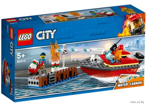 """LEGO City """"Пожар в порту"""" — фото, картинка"""