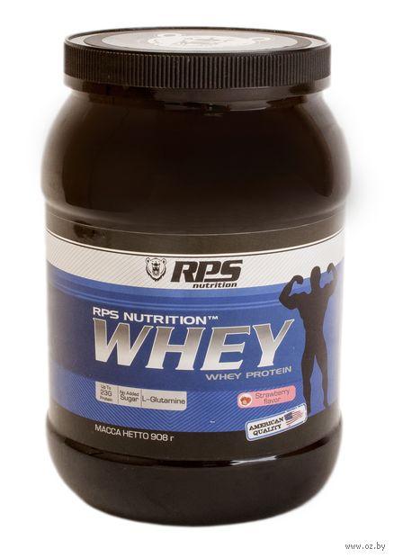 "Протеин ""Whey Protein"" (908 г; клубника) — фото, картинка"